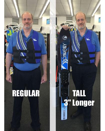 HO Sports TALL Life Vest Mens CGA Blue Nylon