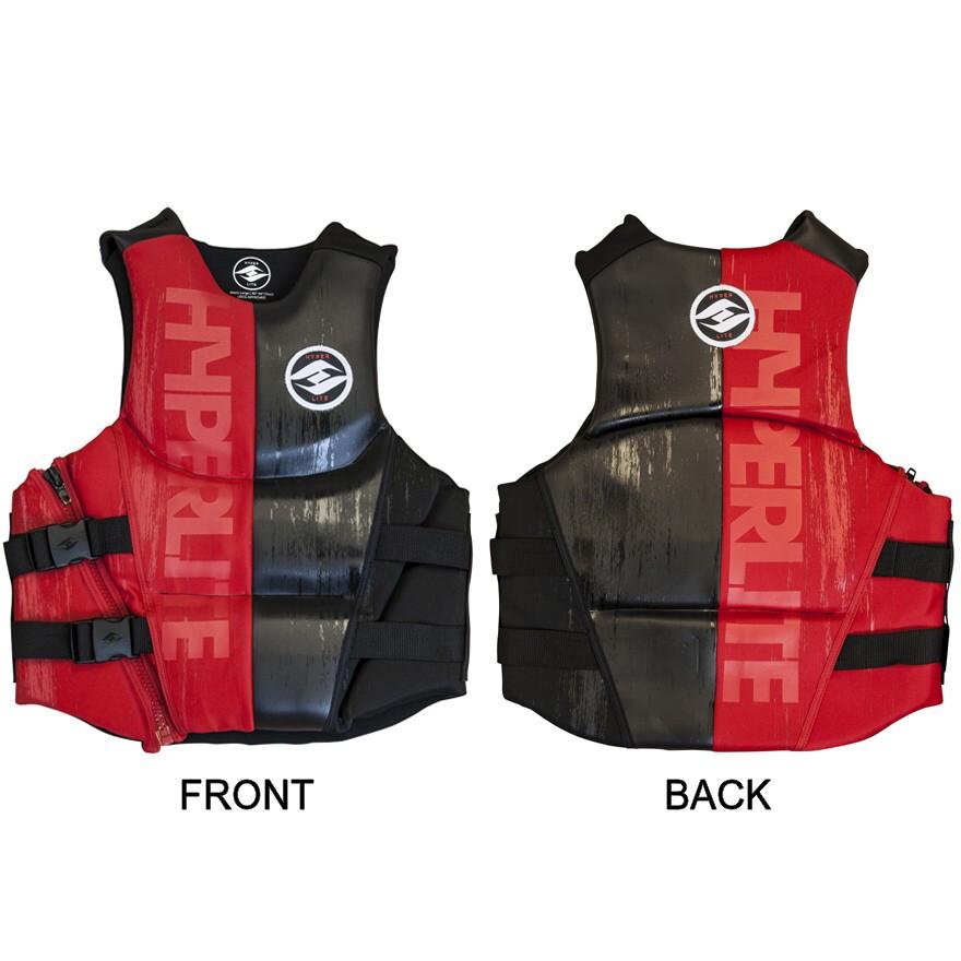 Hyperlite Hatch Mens Neoprene Life Vest Red 2017