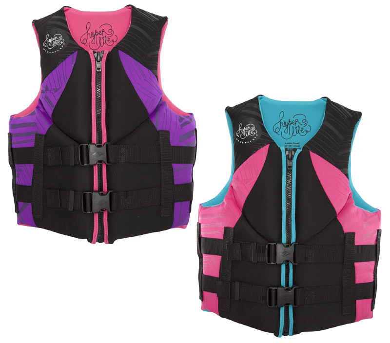 Hyperlite Indy Womens Neoprene Life Vest CGA 2017
