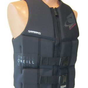 oneill assault black life vest 2018