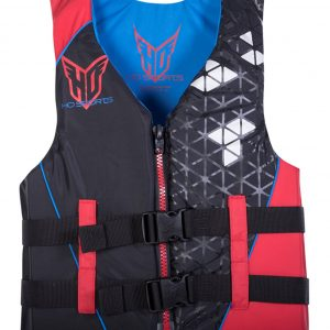 ho infinite mens nylon life vest red black