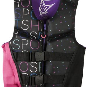 HO Pursuit Girls YOUTH Life Vest 50-90 lbs CGA Closeout