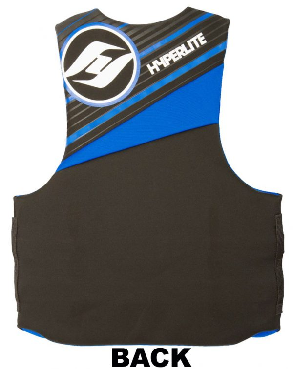 Hyperlite Indy TALL Neoprene Life Vest up to size 3XL-TALL