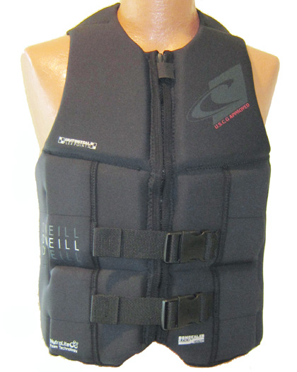 oneill assault ls mens life vest 4498 A00