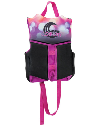 connelly classic child girls life vest 2019 back