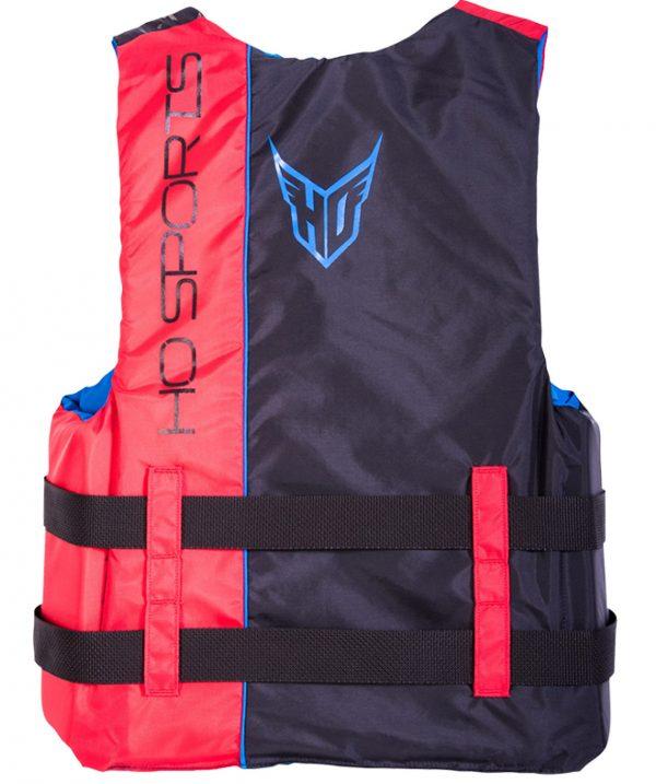 ho infinite mens nylon life vest red back