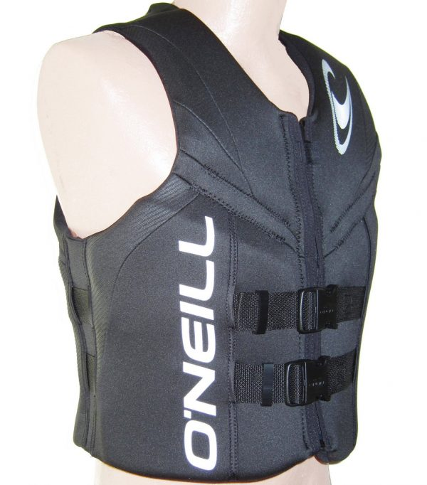 ONeill Reactor Mens Neoprene Life Vest CGA 2019 Black