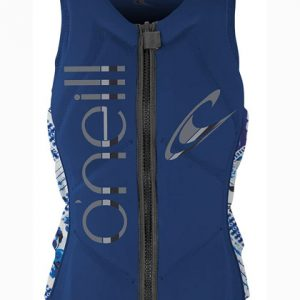 oneill womens slasher comp vest navy EN2 2018