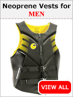 Mens Neoprene Life Vests