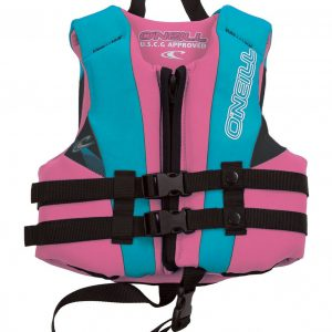 ONeill Child Reactor Neoprene Life Vest Pink 2019