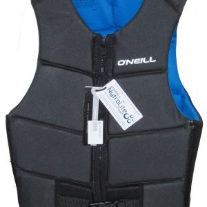 oneill oputlaw mens comp vest black blue