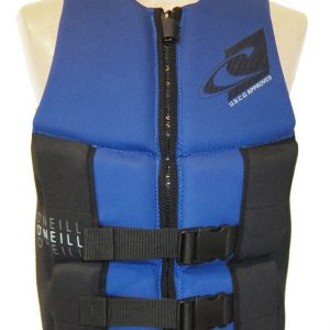 ONeill Assault LS Mens Neoprene Life Vest Blue 2019