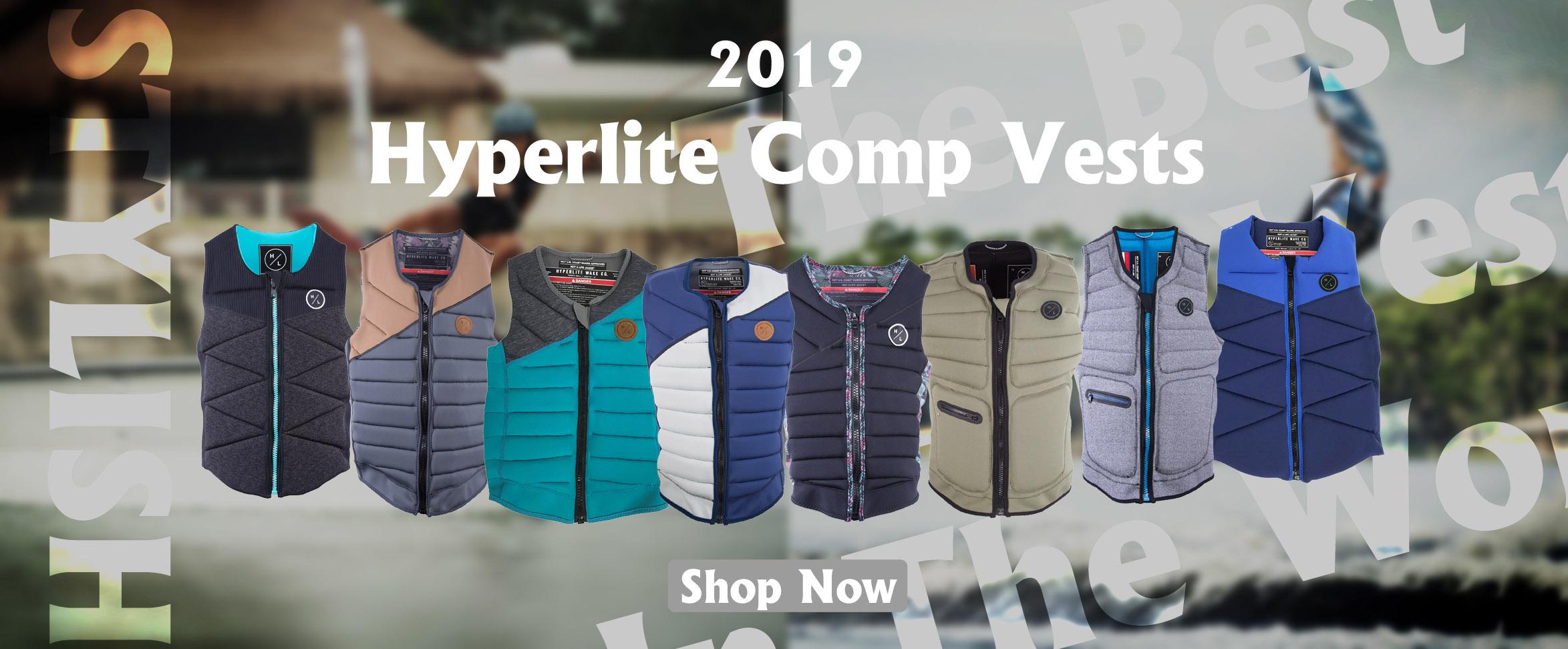 2019 Hyperlite Comp Vest Banner