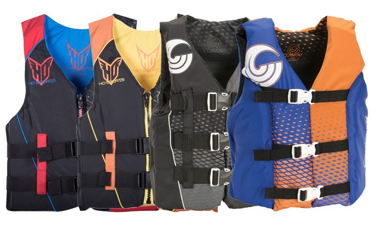Discount Nylon Life Jackets for Men Women Kids Coast Guard Approved