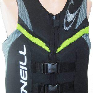 oneill reactor mens neoprene life vest lunar flex