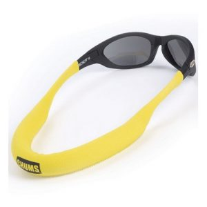 Chums Floating Eyewear Retainer Sunglass Float Neo Yellow