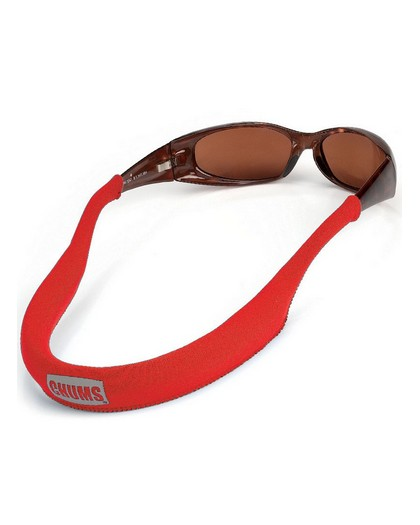 Chums Floating Eyewear Retainer Sunglass Float Red