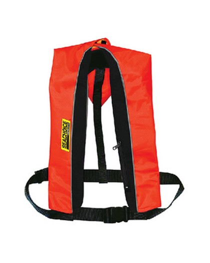 Seachoice Type V Inflatable PFD Red Black