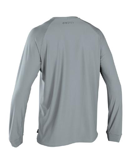 ONeill 24-7 Traveler Sun Shirt L/S Grey Rashguard 2019