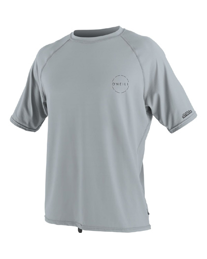 ONeill 24-7 Traveler Sun Shirt S/S Grey Rashguard 2019