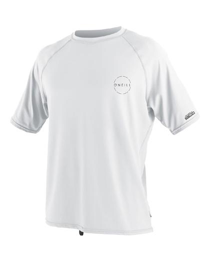 ONeill 24-7 Traveler Sun Shirt S/S White Rashguard 2019