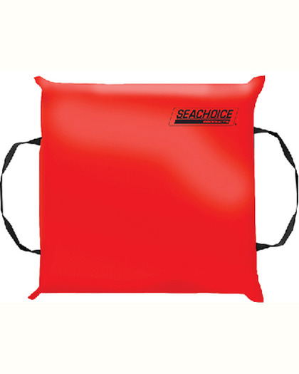 Seachoice Throwable Foam Boat Cushion Red