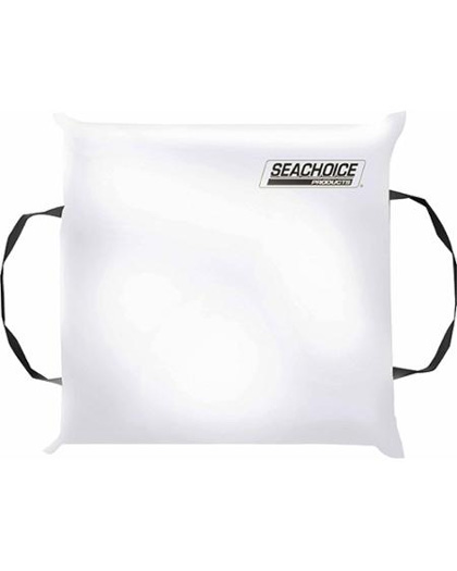 Seachoice Throwable Foam Boat Cushion White