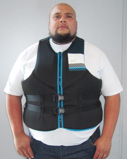 hyperlite tall neoprene life vest front